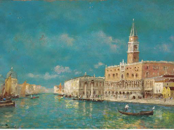The Doge's Palace and Grand Ca