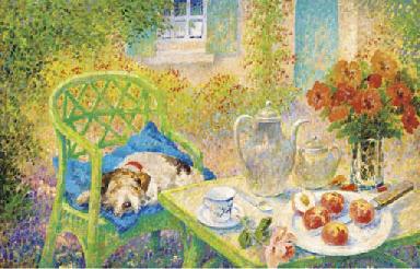 A teatime siesta