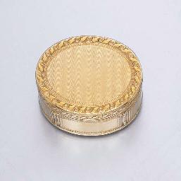 A LOUIS XV GOLD BOX