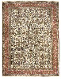 A fine carpet of Tabriz design