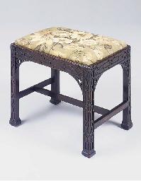 A George III mahogany blind fr