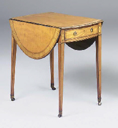 A George III satinwood crossba