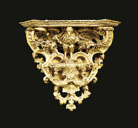 A French carved giltwood gesso
