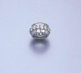 A DIAMOND ETERNITY RING, BY GR