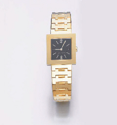 A GOLD WRISTWATCH, BY BULGARI