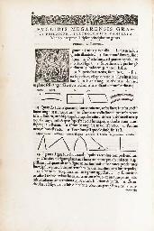 EUCLID (fl. ca. 300 B.C.). Elementorum geometricorum lib. XV . Basel...
