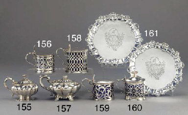 An Early Victorian Silver Must