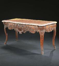 TABLE A GIBIER DE STYLE LOUIS