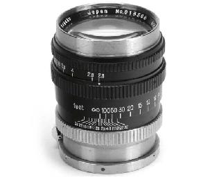 Nikkor-P·C f/2.5 10.5cm. no. 9