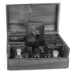 Boxform collodion camera