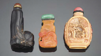 A ROOT AMBER SNUFF BOTTLE 19TH