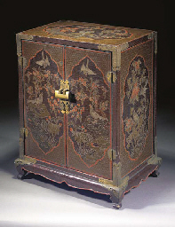 A CHINESE RECTANGULAR LACQUER