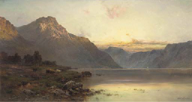 A July evening, Loch Lomond