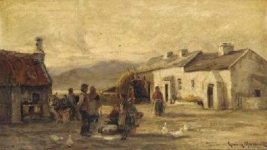 The farmstead; and The fishing
