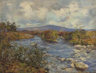 A Highland river