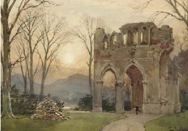 Sir Walter Scott's grave, Dryb