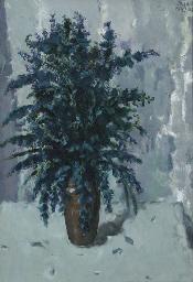 Bluebells in a vase