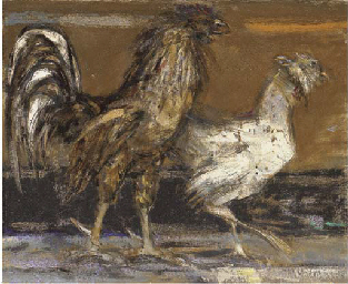 Cock and hen I