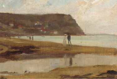 The beach at Runswick