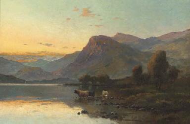 Evening, Derwentwater