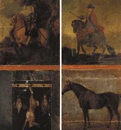 Portrait of Charles I on horse