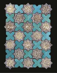 A PANEL OF EIGHTEEN KASHAN LUS