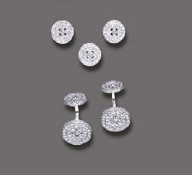 A DIAMOND DRESS SET, BY MIMI B