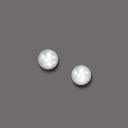 A PAIR OF CULTURED PEARL EAR C