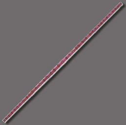 A RUBY LINE BRACELET