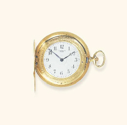 A BELLE EPOQUE GOLD POCKETWATC