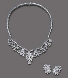 A SUITE OF DIAMOND JEWELRY