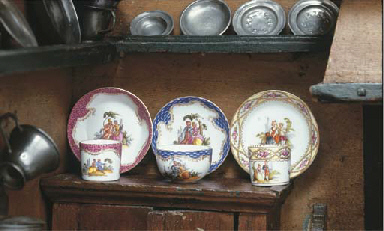 Three miniature Helena Wolfsoh