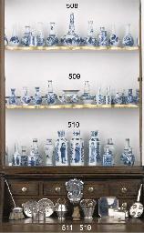 Twelve various Chinese blue an