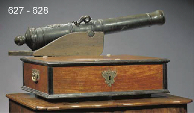 A Dutch colonial brass-mounted
