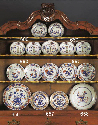 A set of three Chinese Imari p