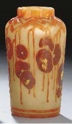 'Decor Capucine' a cameo glass