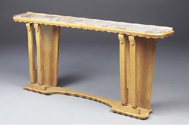 A SYCAMORE CONSOLE TABLE