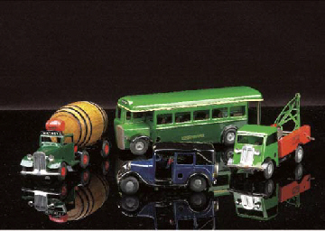Post-war Minic Vehicles