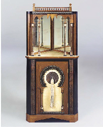 AN INLAID CABINET
