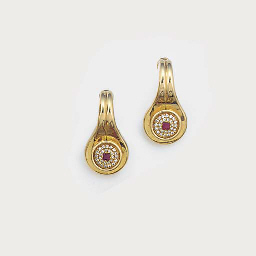 A pair of A & A Turner gold, r