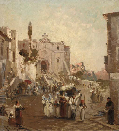 A procession in Southern Italy