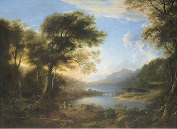 View of Loch Tay with Kenmore