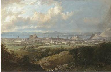 View of Edinburgh from the Bra