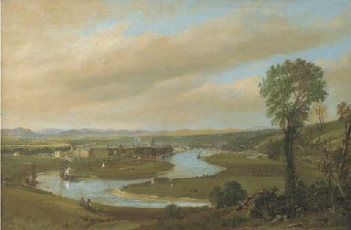 View of Perth and the Tay