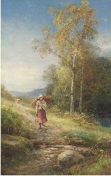 A Mountain Road, Invernesshire