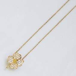 A DIAMOND AND YELLOW DIAMOND P