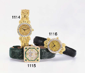 GRAFF. A LADY'S 18K GOLD, DIAM