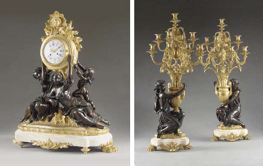 A fine and large French ormolu