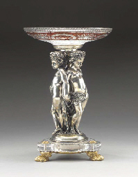 A French silvered-bronze, ormo