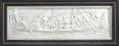 The Captive Boatmen; bas-relie